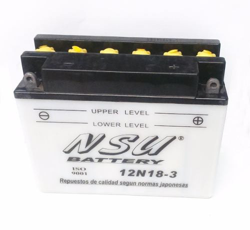 Bateria Nsu 12n18 3