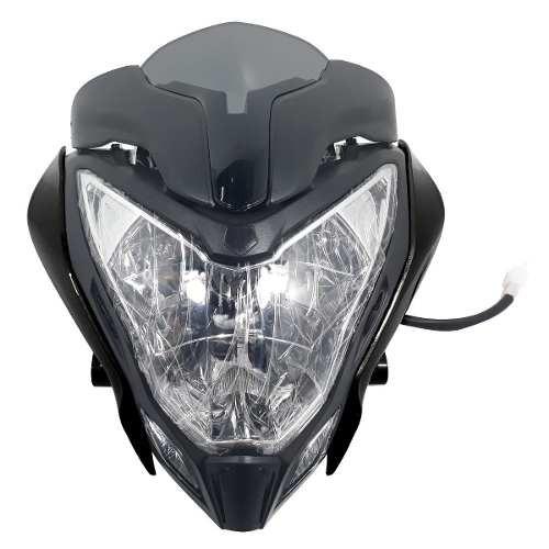 Optica Completa Mascara Bajaj Rouser Ns 200 Negro Yoyo