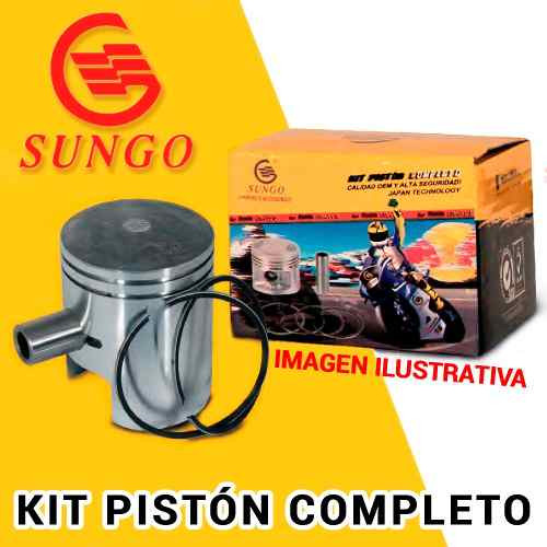 Kit Piston Completo 0 25 Yamaha Crypton 105    Um