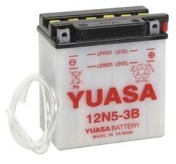 Bateria Yuasa 12n5 3b Fz 16 Ybr Xtz 125 Rouser 135   110 Cc