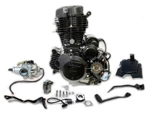 Motor Completo Moto Motomel Motard 200 Con Balanceador   Um