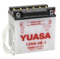 Bateria Yuasa 12n9 4b 1 Rouser 180 220 Patagonian Rebel Hd