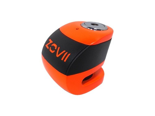 Traba Disco Zovii Con Alarma Naranja Perno 6mm