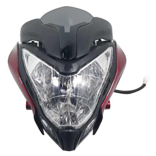 Optica Completa Mascara Bajaj Rouser Ns 200 Bordo Yoyo