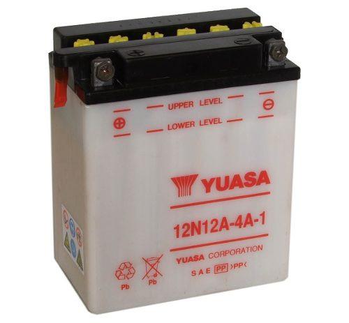 Bateria Motos Yuasa 12n12a 4a 1 12v 12ah    Um