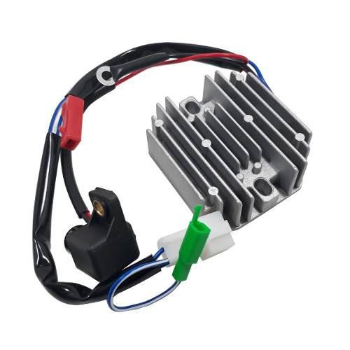Regulador de Voltaje Bajaj Rouser NS 200 Modelo Viejo Yoyo