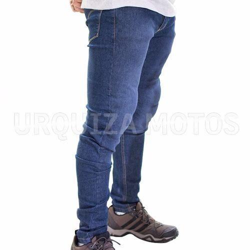 Jean Semi Elastizado con Protecciones Iron Jeans Azul