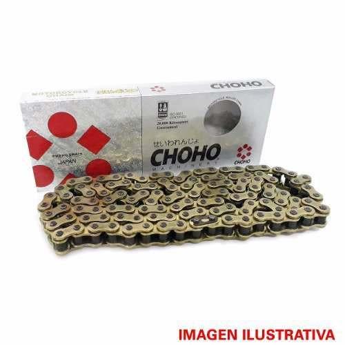 Cadena de Transmision Choho 428 H X 118 Dorada