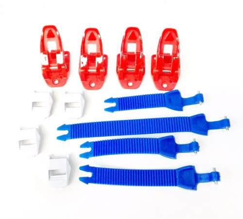 Repuesto Hebillas Y Tiras Botas Oneal Rider Azul Blanco Rojo