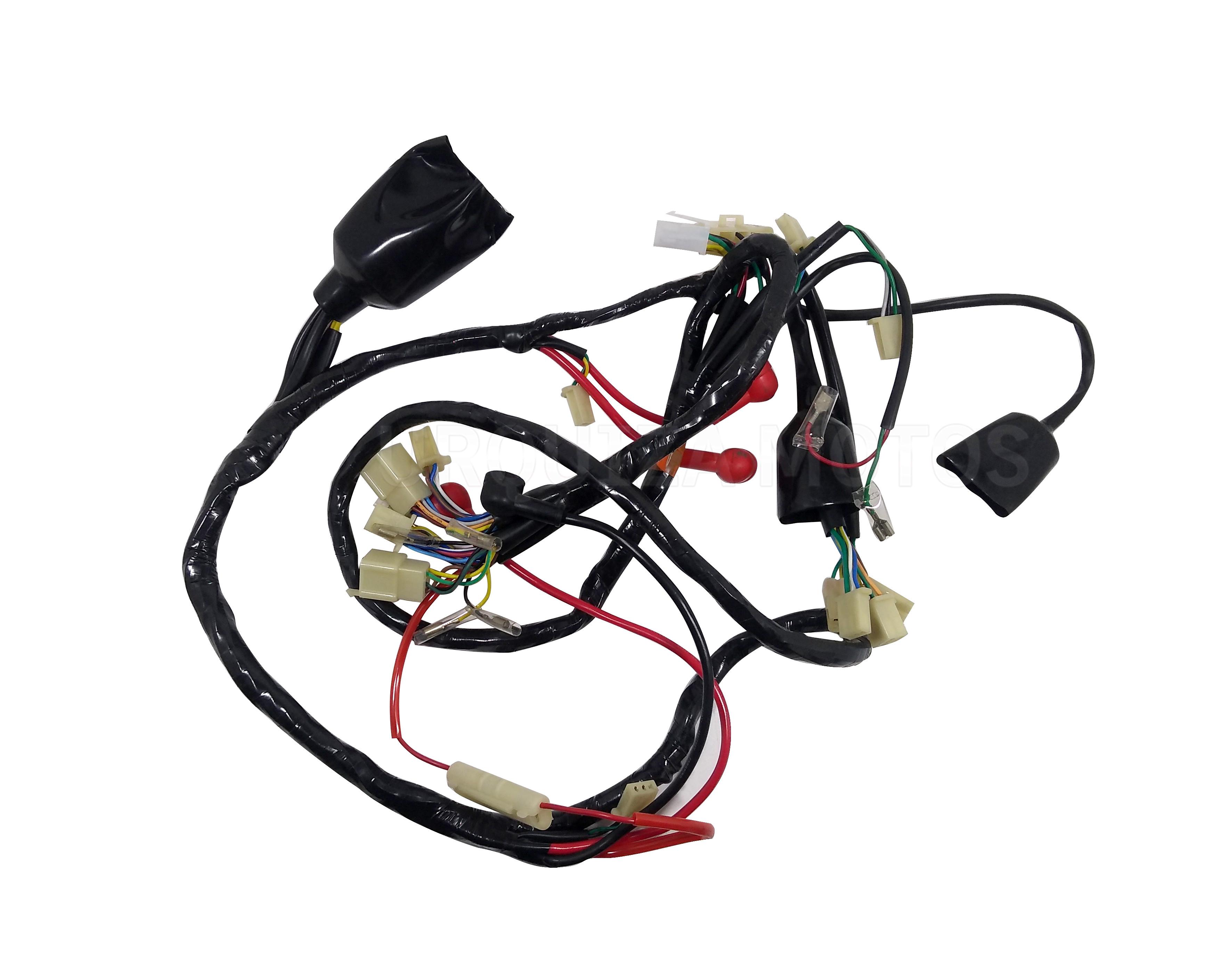 Cableado Instalacion Electrica Zanella Styler 150 Z3 Exclusive Original