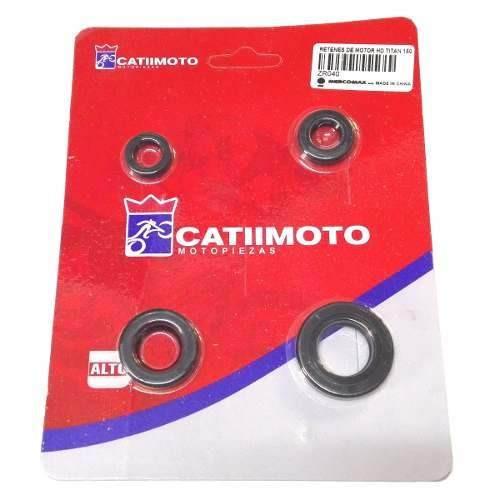 Juego Retenes De Motor Honda CG 150 Titan Catimoto