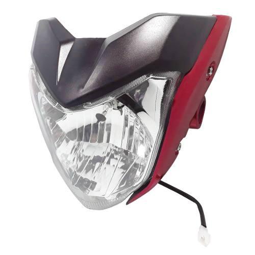 Optica Completa Mascara Yamaha Fz 16 Bordo Yoyo