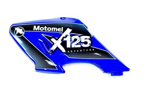 Cacha Deflector Tanque Izquierdo Azul Motomel X3m 125 Original