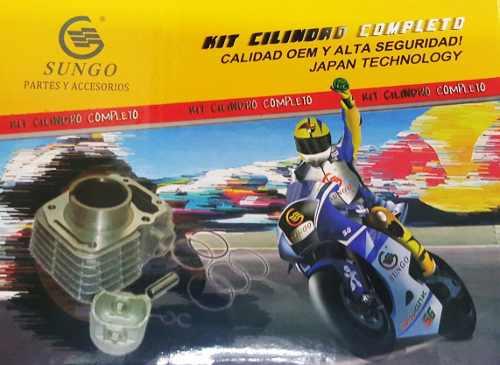 Kit Cilindro Completo Yamaha Crypton 105 Sungo