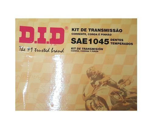 Kit de Transmision Honda CBX 250 Twister 37/13 con Oring DID