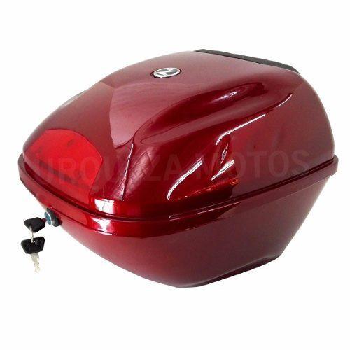 Baul Zanella Styler Exclusive 150 Z3 Rojo Original