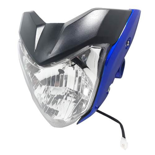 Optica Completa Mascara Yamaha Fz 16 Azul Yoyo