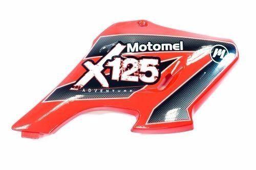 Cacha Deflector Tanque Derecho Rojo Motomel X3m 125 Original