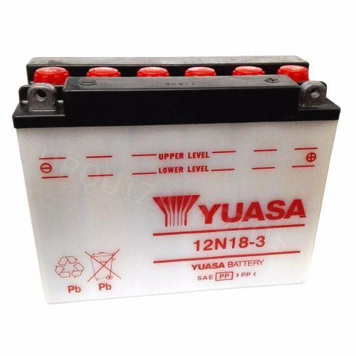 Bateria Yuasa 12n18 3