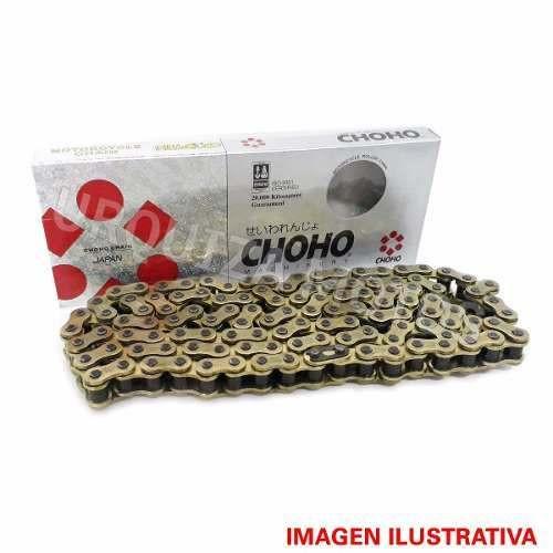 Cadena de Transmision Choho 520 H X 118 Dorada