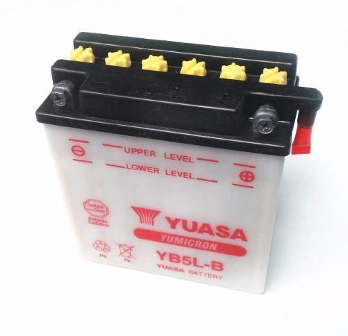 Bateria Para Motos Yuasa Yb5l b Urquiza Motos