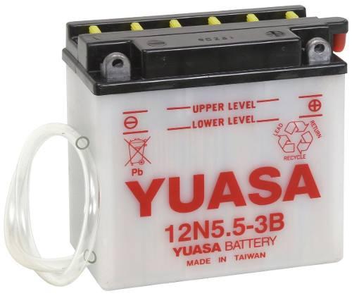 Bateria Yuasa 12n5 5 3b Ybr 125 Brasil    Um