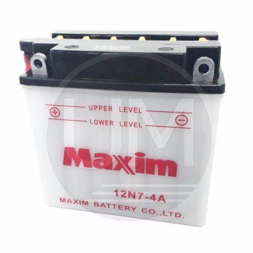 Bateria Maxim 12n7 4a   Acido Gn En Hj 125    Um