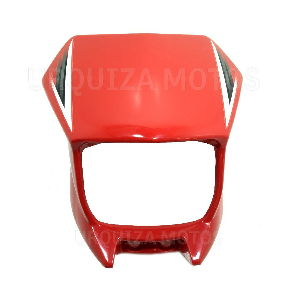 Mascara Optica Roja Yamaha Xtz 125
