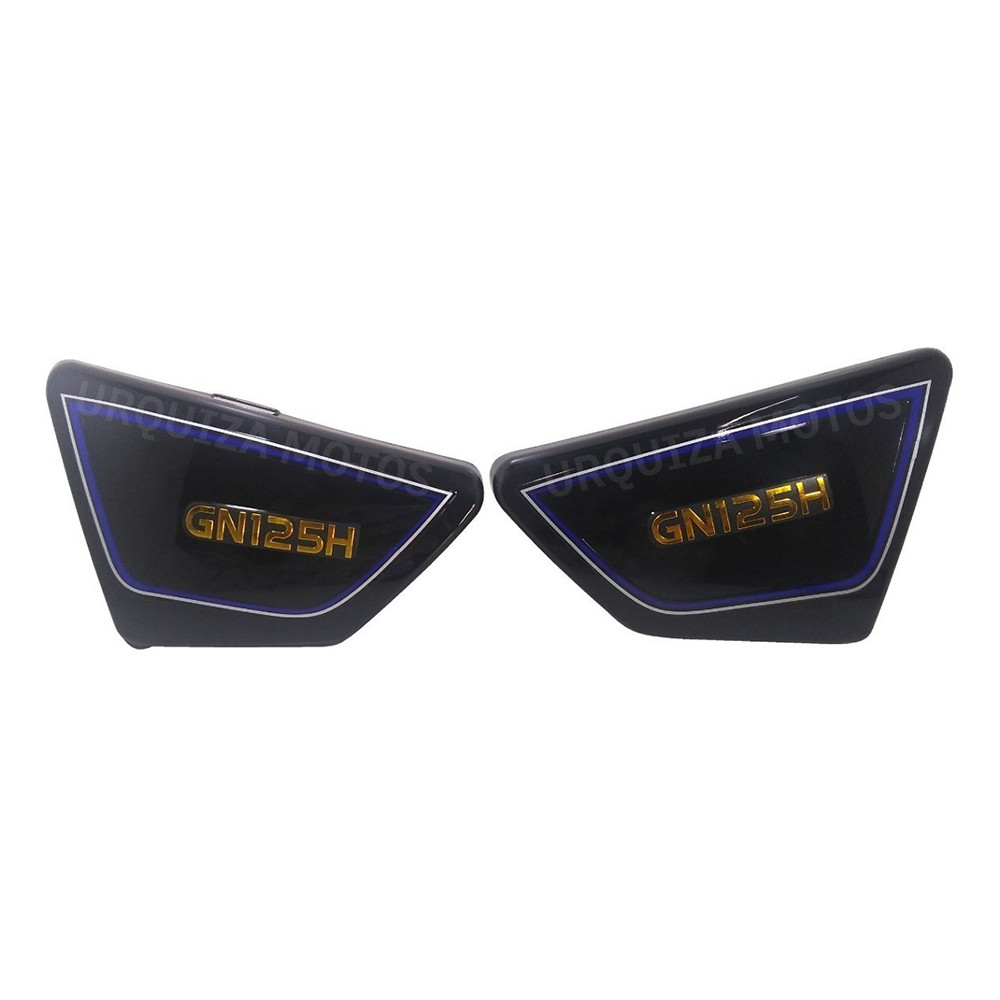 Juego Cachas Laterales Negro Suzuki Gn 125 Yoyo Um