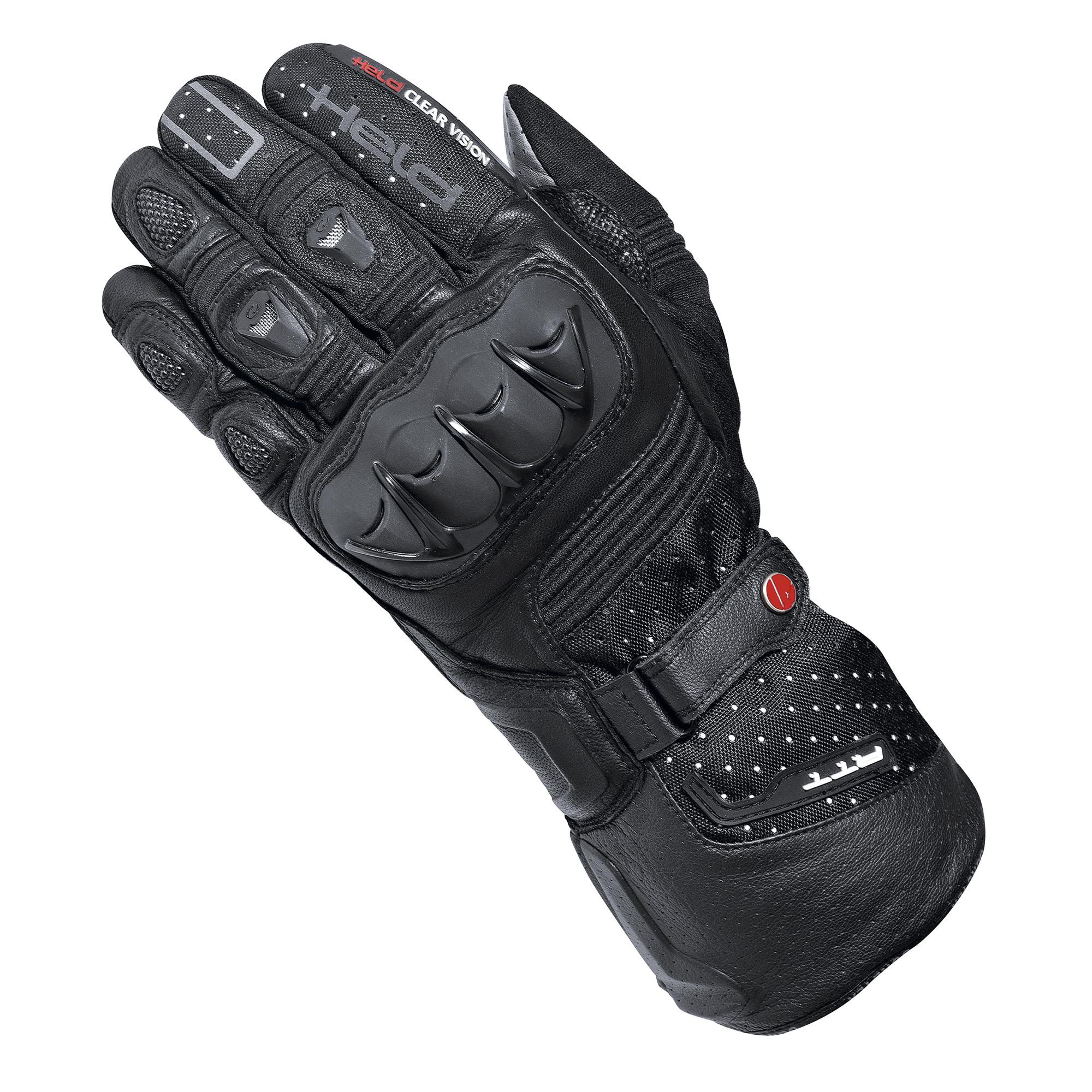 Guantes Moto Held Air N Dry Goretex Touring Negro Um