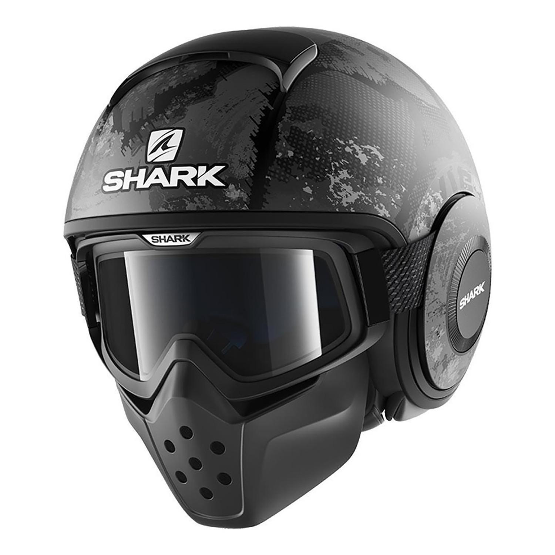 Casco Modular Shark Drak Evok Gris Negro
