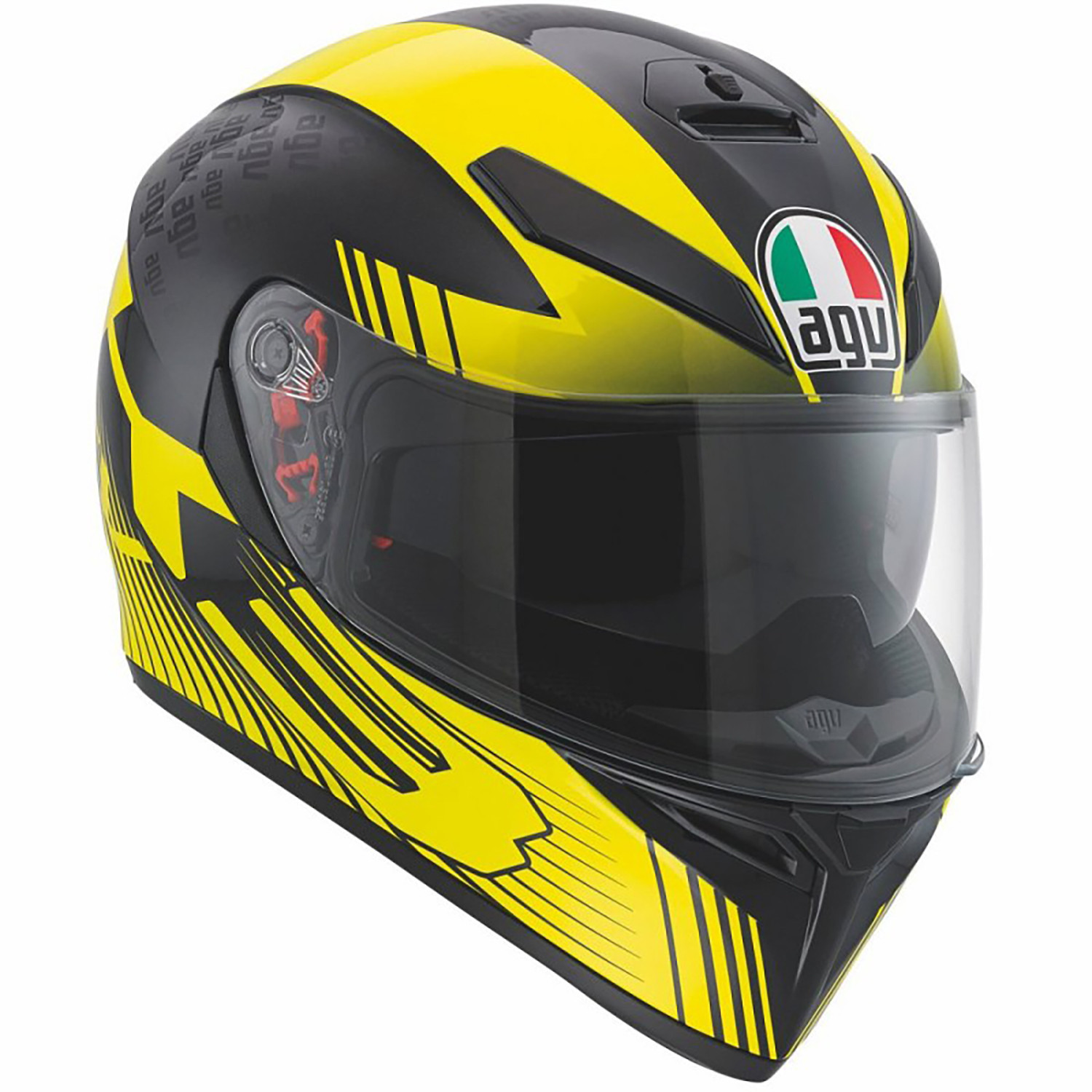 Casco Integral AGV K3 SV Multi Glimpse Amarillo