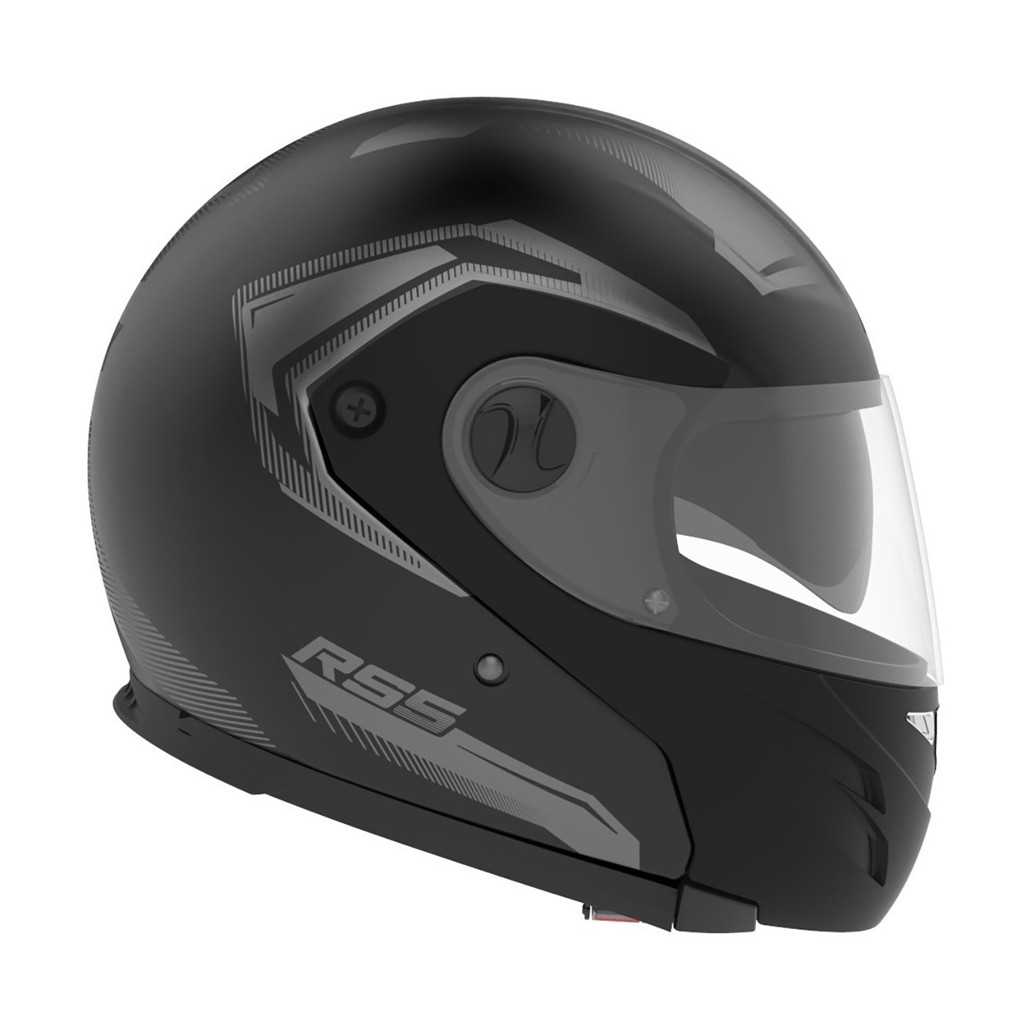 Casco Rebatible Hawk RS5 Vector Negro Mate