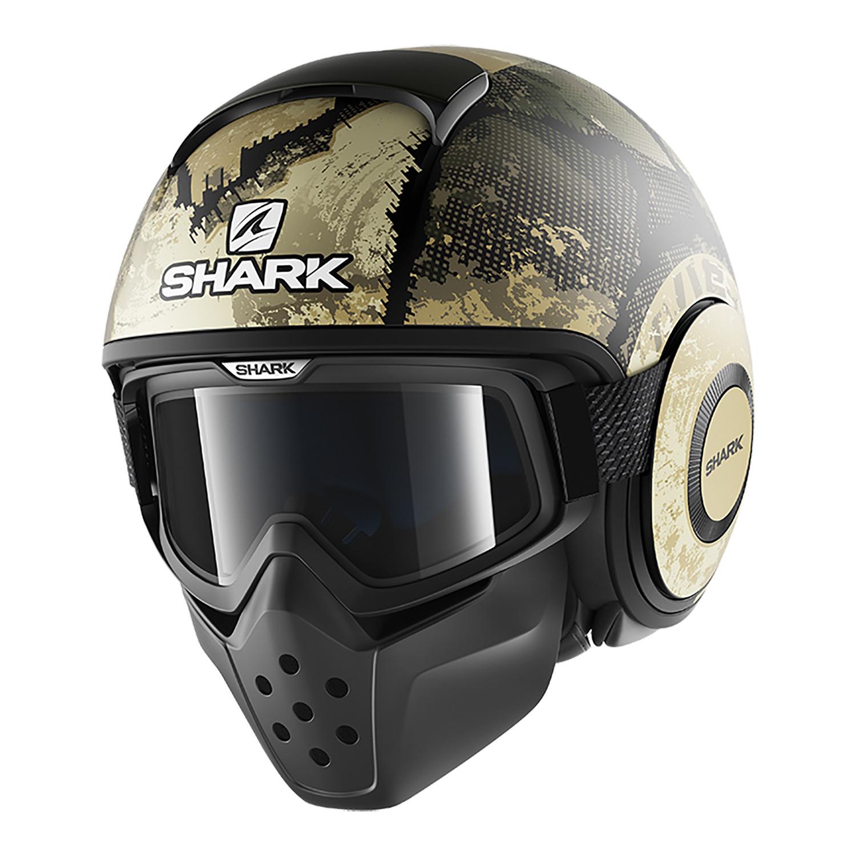 Casco Modular Shark Drak Evok Verde