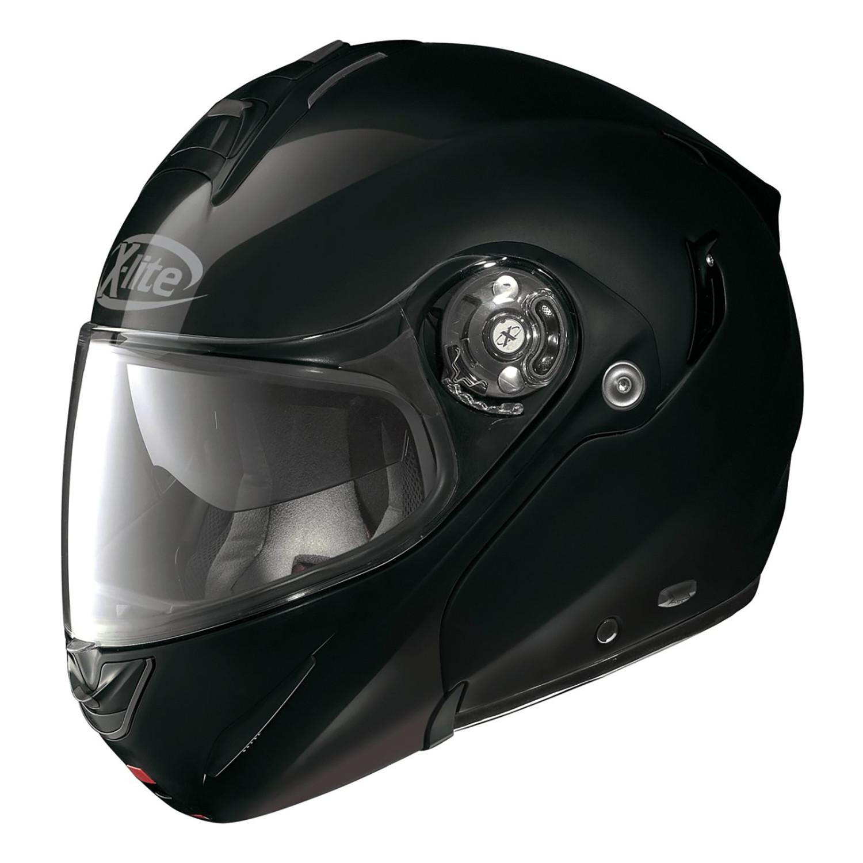 Casco Rebatible X-Lite X-1003 Elegance Negro Doble Visor Um