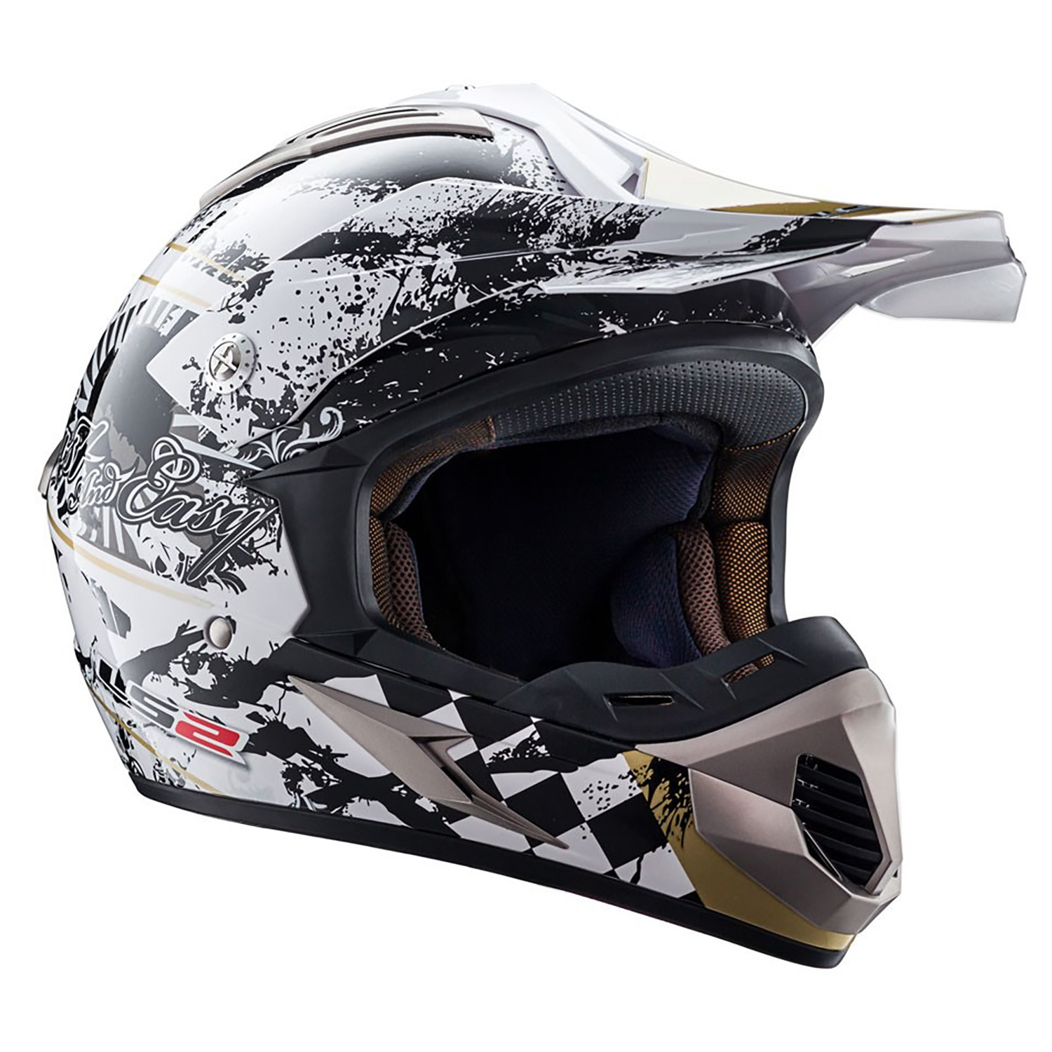 Casco Cross LS2 MX 433 Desperado Gloss