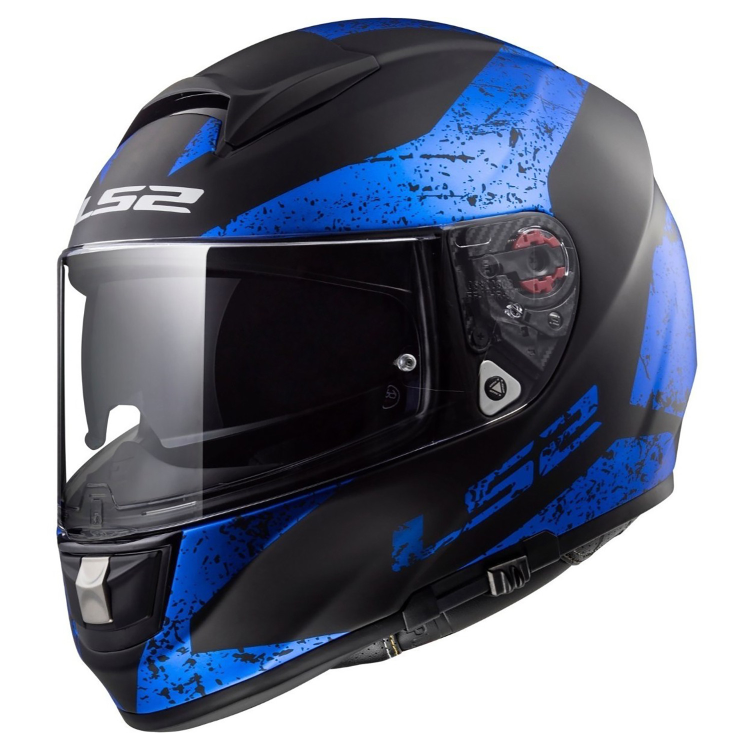 Casco Integral LS2 FF 397 Vector Mate Azul