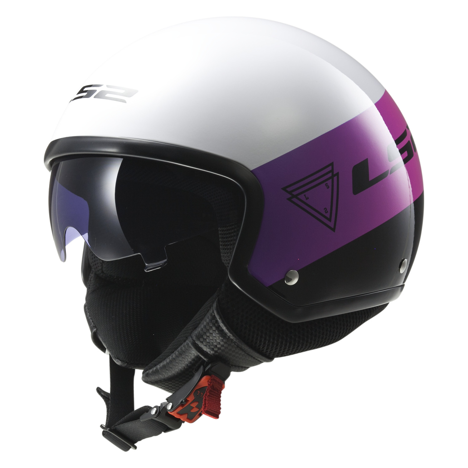 Casco Abierto LS2 FF 561 Wave Beat Blanco
