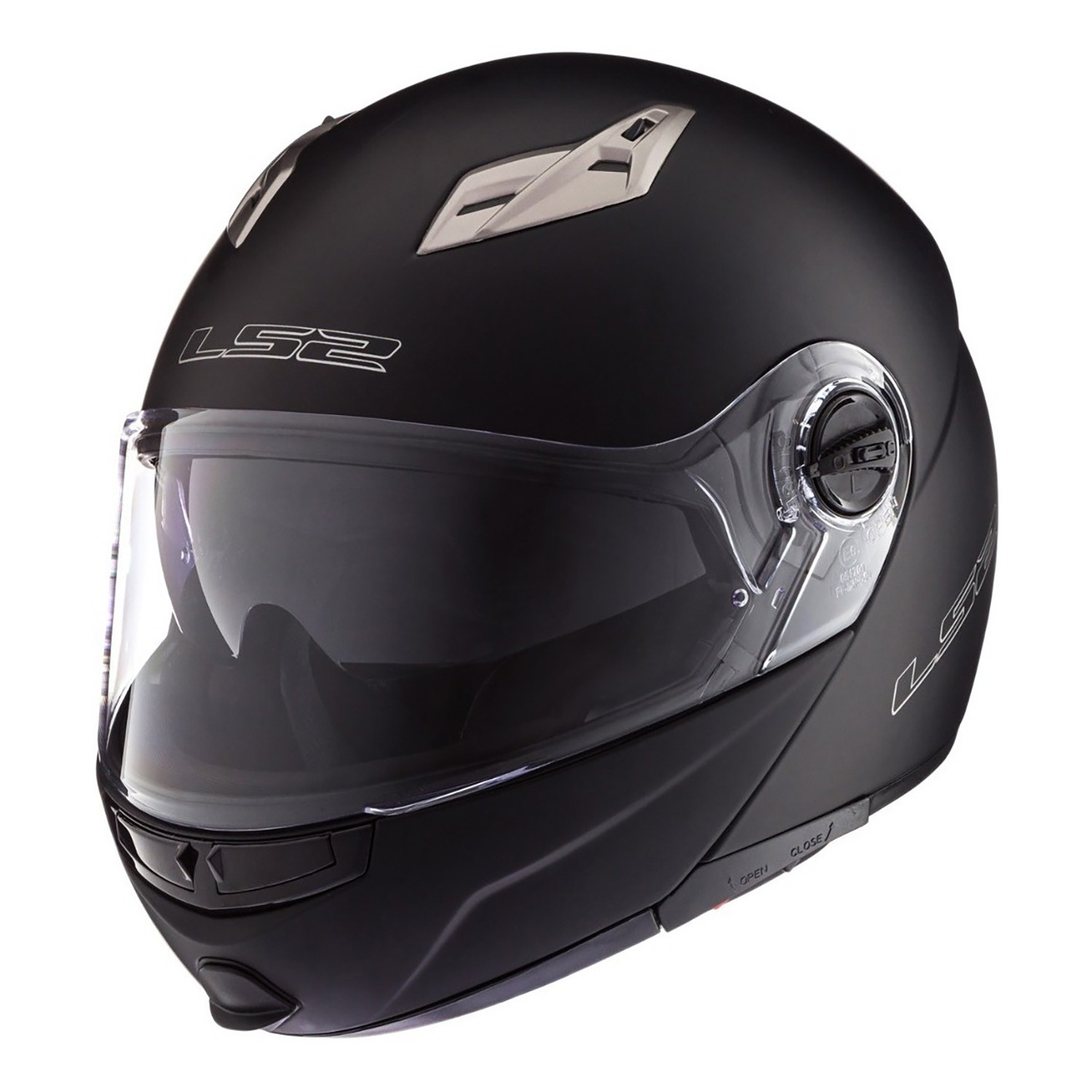 Casco Rebatible LS2 FF 370 Easy Negro Mate