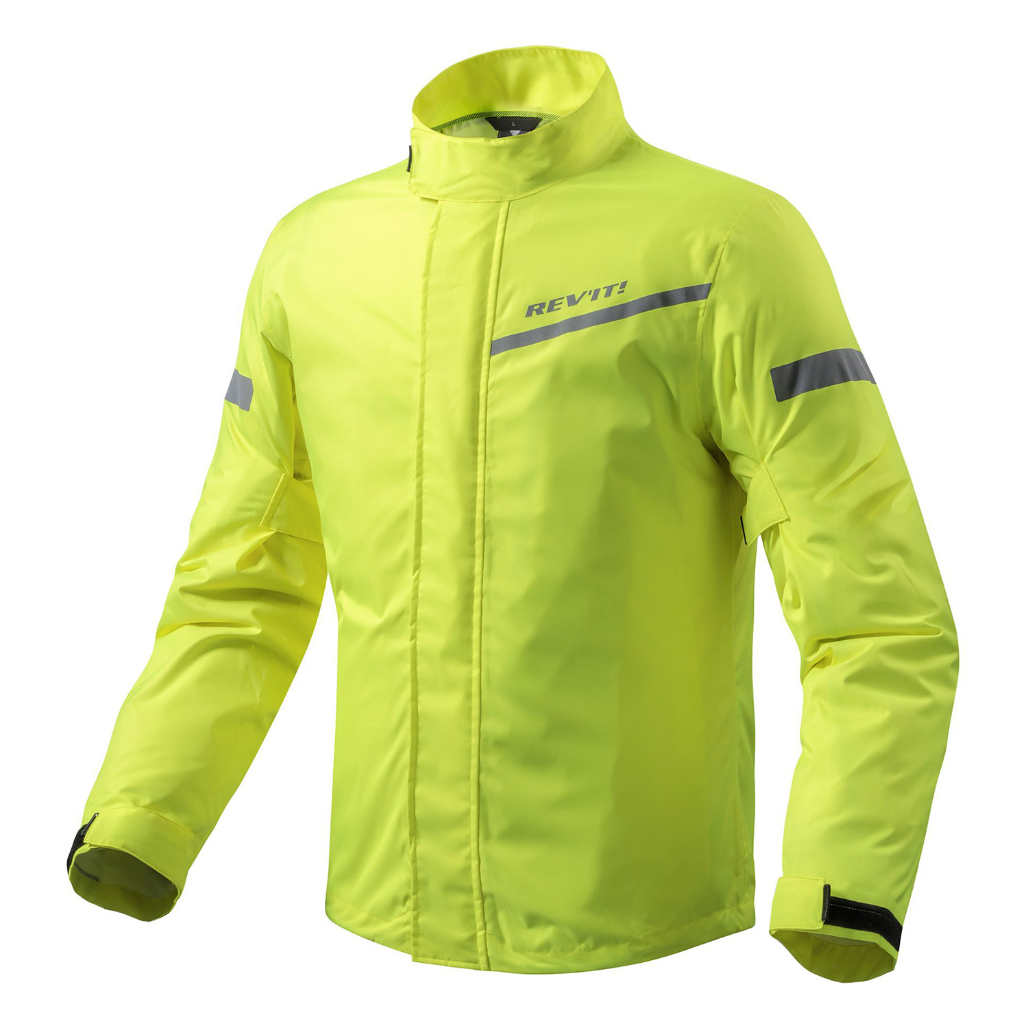 Campera Moto Revit Cyclone 2 Lluvia H20 Impermeable Fluo
