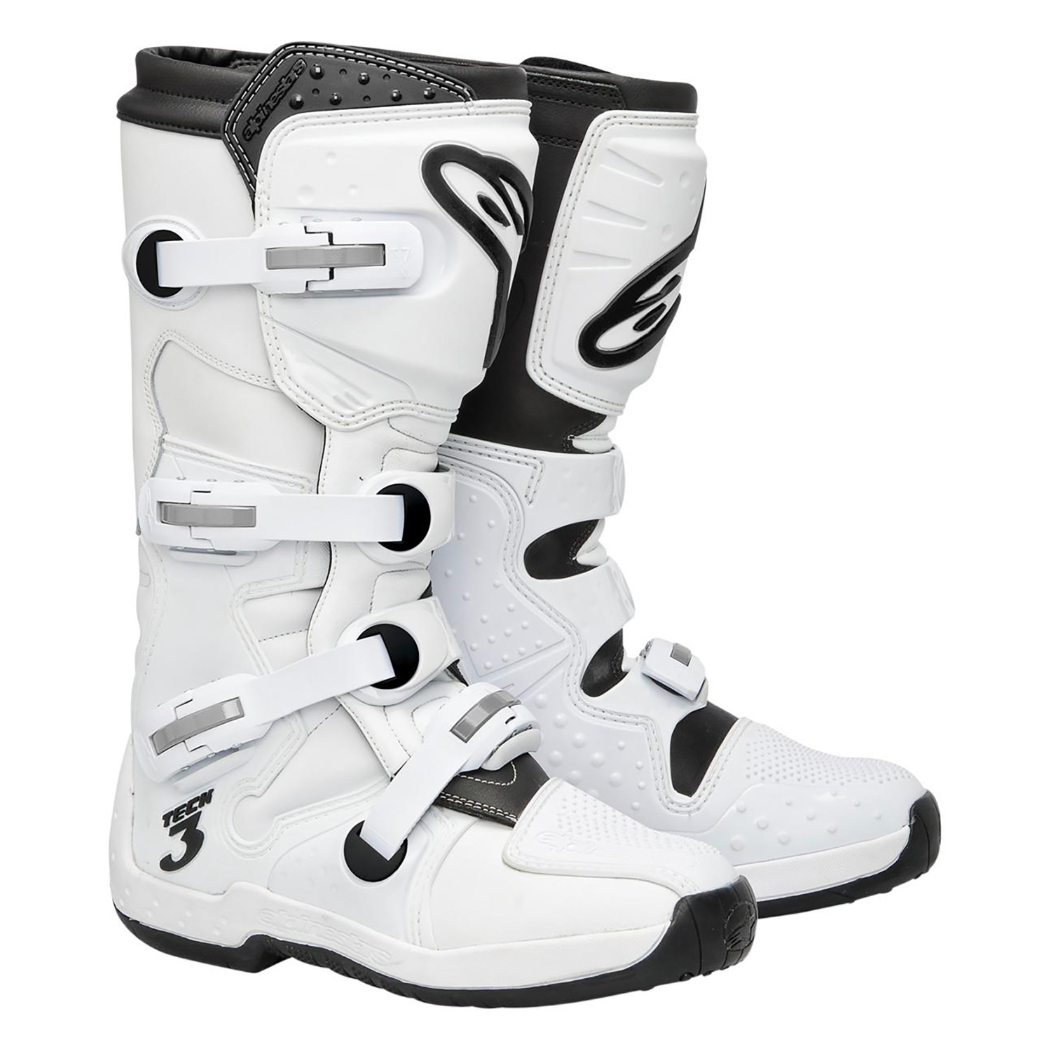Botas Alpinestars Tech 3 Blanco Original    Um
