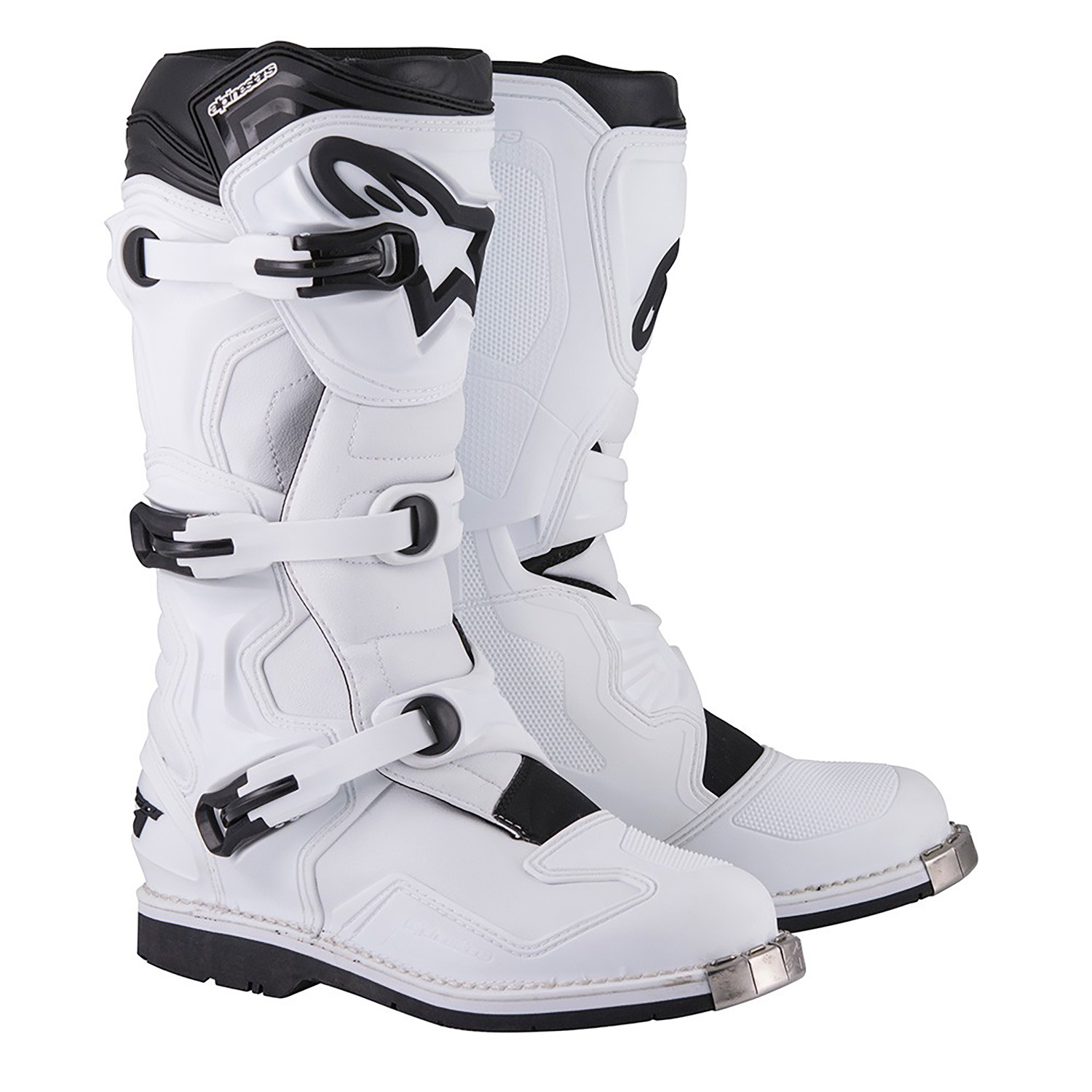 Botas Alpinestars Tech 1 Enduro Cross Blanco    Um