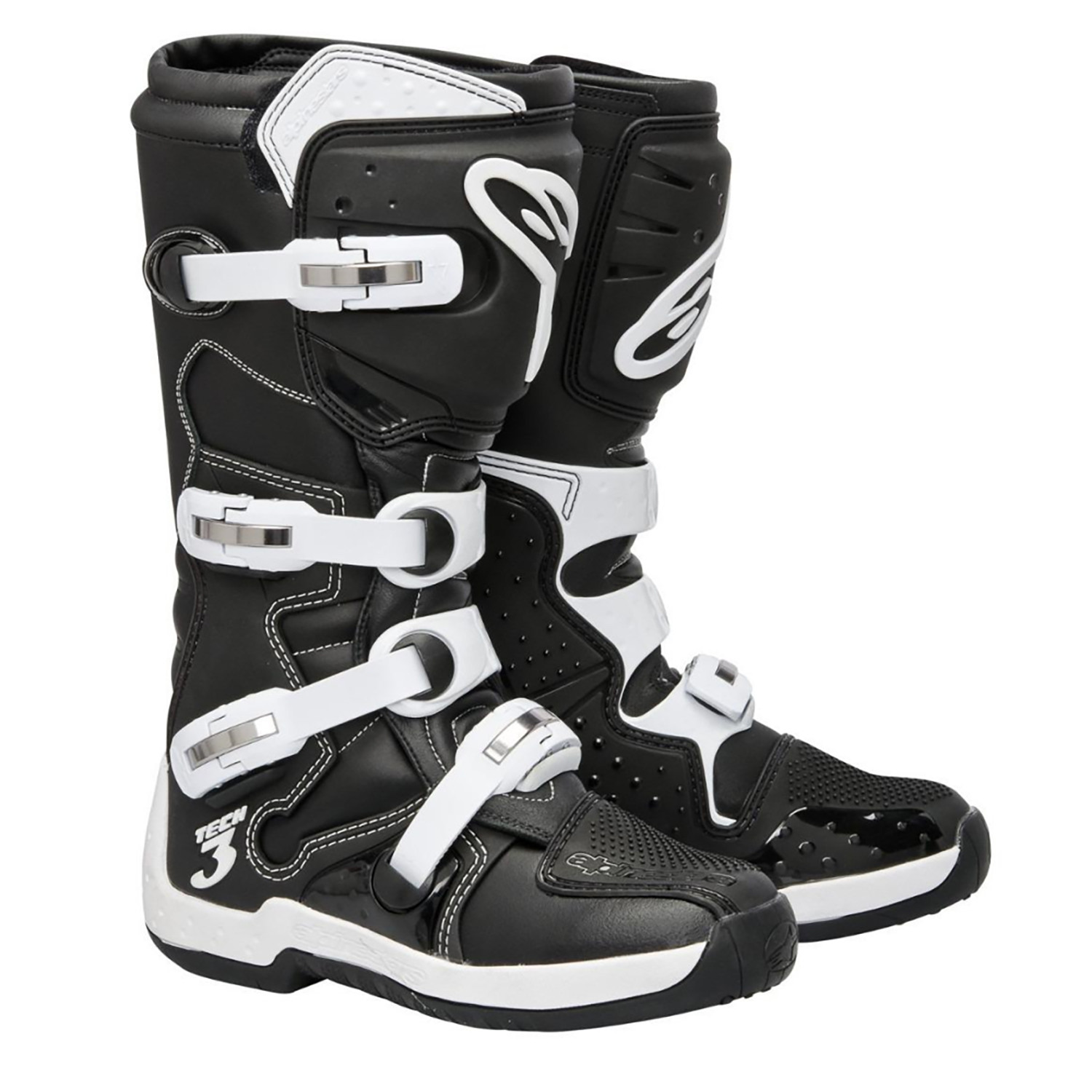Botas Moto Cross Enduro Alpinestars Tech 3 Negro Original Um