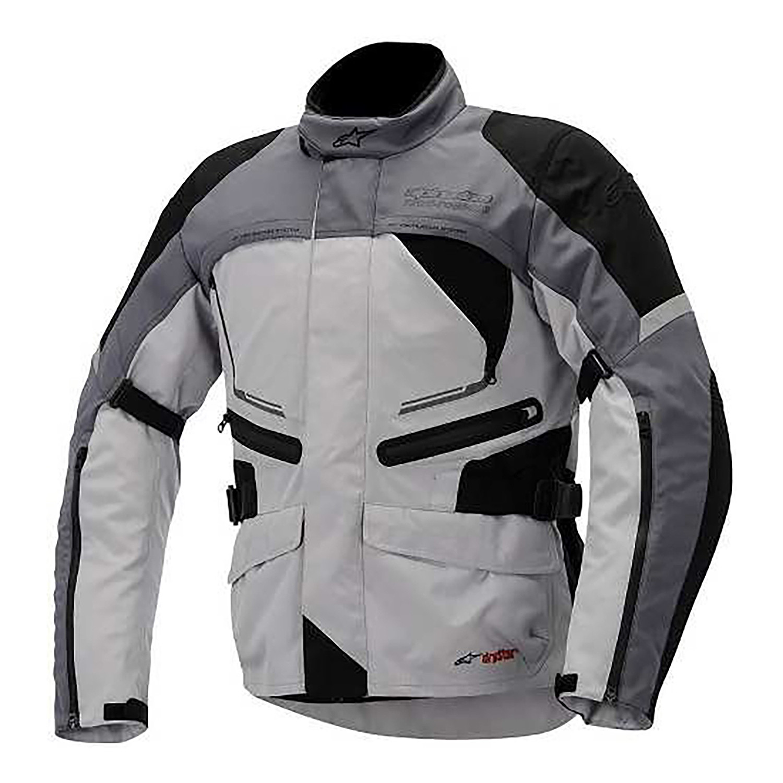 Campera Moto Alpinestars Valparaiso Drystar Gris Proteccion