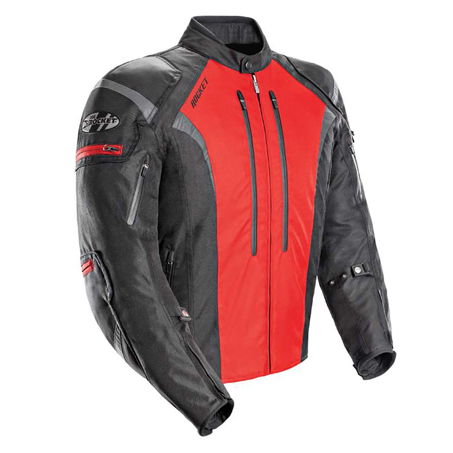 Campera Joe Rocket Atomic 5.0 Negro Rojo