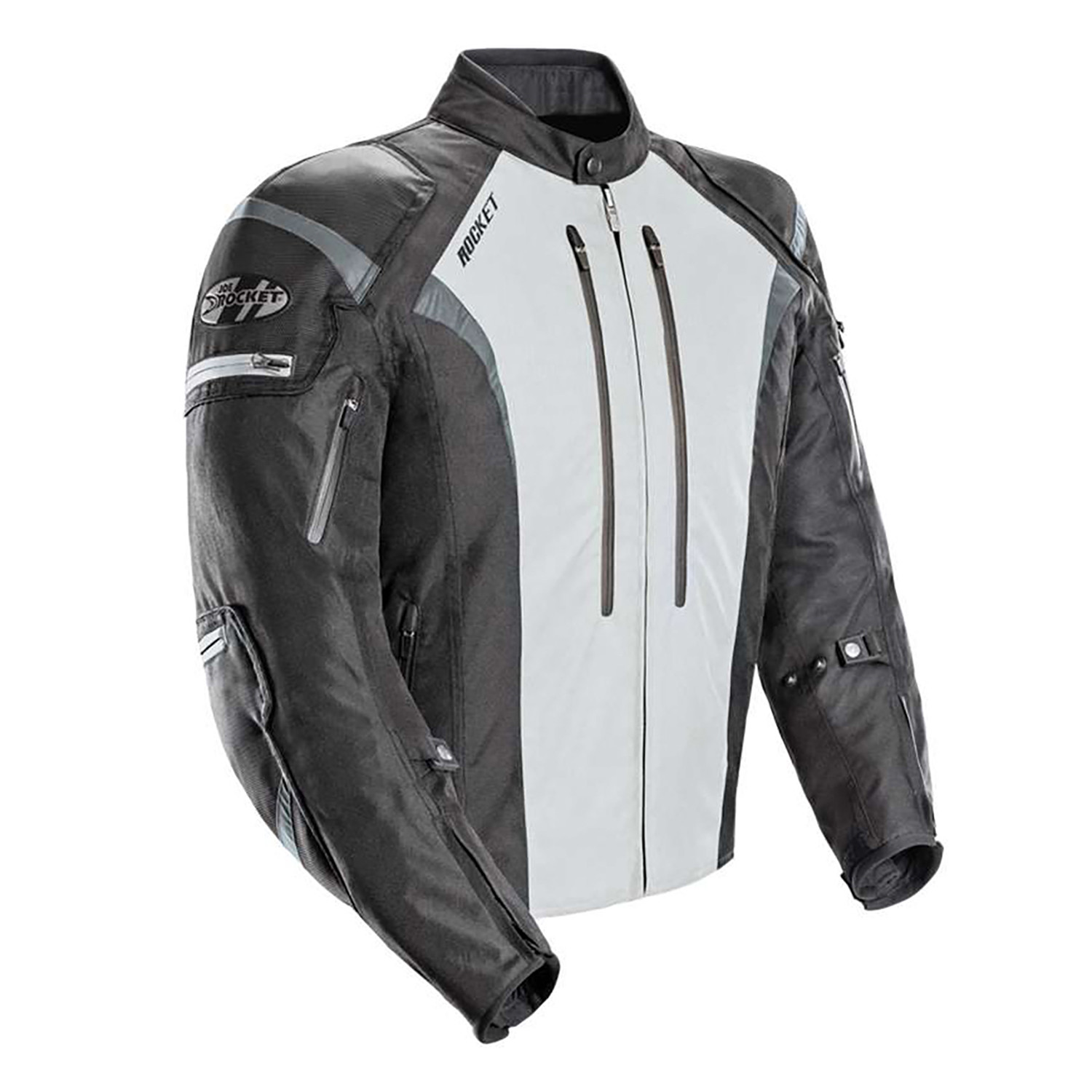 Campera Joe Rocket Atomic 5.0 Negro Gris