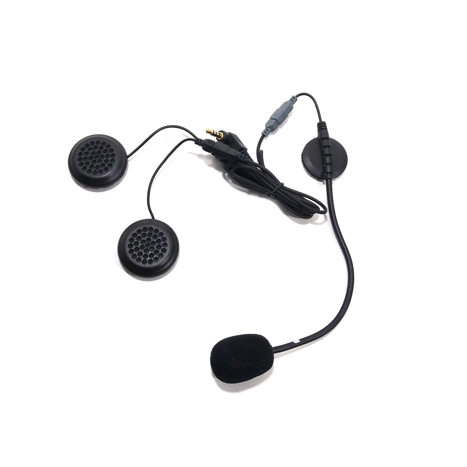 Kit Auriculares y Microfono Intercomunicador Ejeas E6