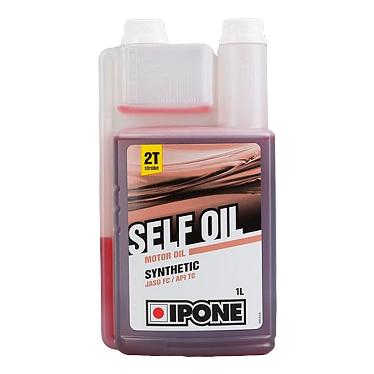 Aceite Lubricante Ipone Self Oil 2t Sintético Frutilla