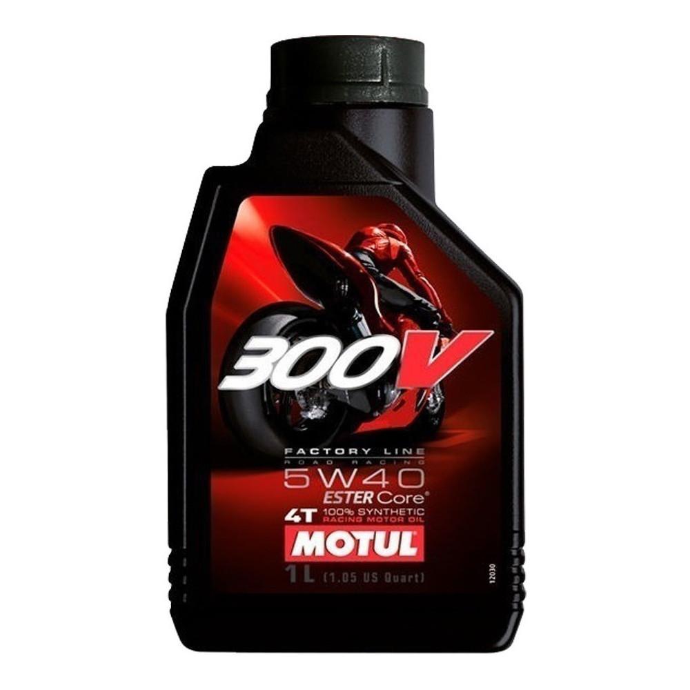 Aceite Motul 300v Factory Line 5w40 4t Sintetico 1 Litro