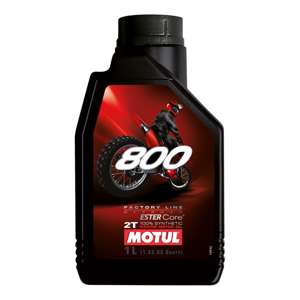 Aceite Motul 800 2T Sintético 1 Litro